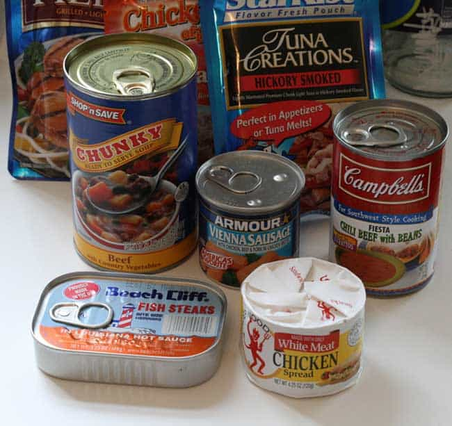 Canned Food for Survivial. You may not know it but there a many everyday items that can be used in practical and helpful survival essentials. When you're caught in a survival situation, it's your skills that will make or break you. Here are some amazing survival tips that could wind up saving your life or a loved one's life.