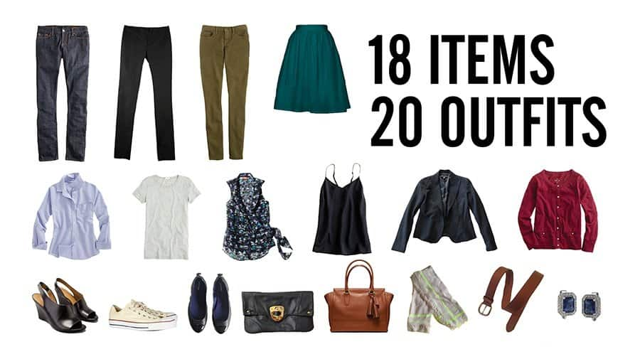 Twenty Outfits - These indispensable travel packing tips we've assembled will make your packing and unpacking much more efficient and help you stay super organized while on vacation. Now you're set to travel like a pro!