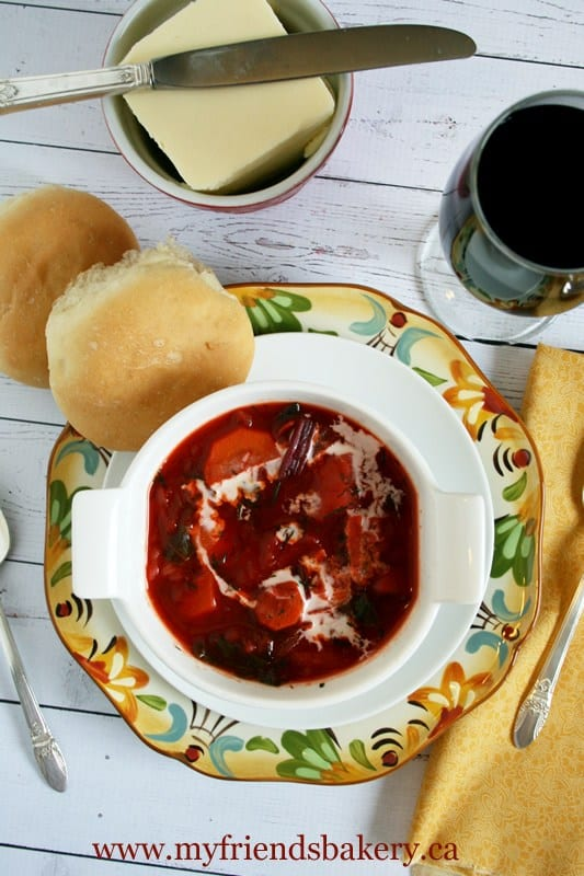 Borscht Soup - Canning homemade soupscanhelp you save money, gain control over what's in your food, and save you time when you need a quick meal. Make your own canned soup with one of these delicious twelve recipes today.