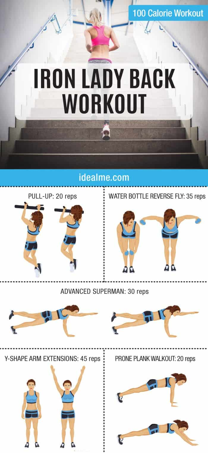 Having a toned upper back is attainable. This workout will help you achieve a sleek and sexy look so you can rock out your dress or bathing suit.