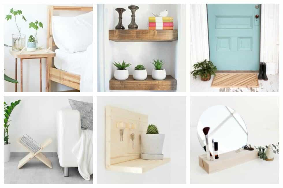 20 Easy Woodworking Projects To Make Your Home More Beautiful ...