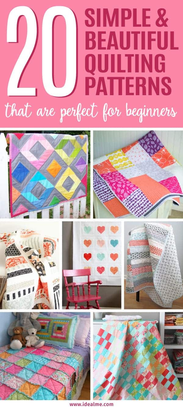 15 simple and beautiful quilt patterns for beginners ideal me 15 simple and beautiful quilt patterns for beginners if you can follow directions and sew jeuxipadfo Gallery