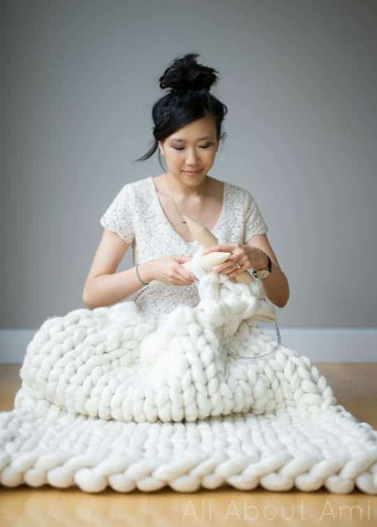 11 Cozy Chunky Blankets You Ll Want To Knit This Weekend