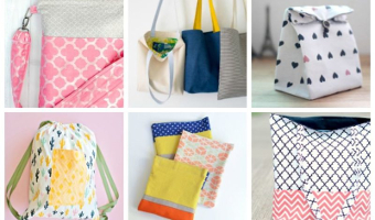 15 Easy Sew Totes and Bags You'll Want to Make Immediately