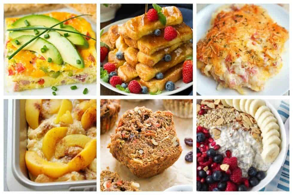 Make your mornings a breeze with these 20 make-ahead breakfast recipe perfect for busy mornings. These recipes will make you want to get out of bed.
