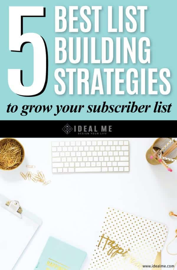 We've talked about list building methods and strategies before and these are some of our favorite and best ways to build your list and boost traffic.