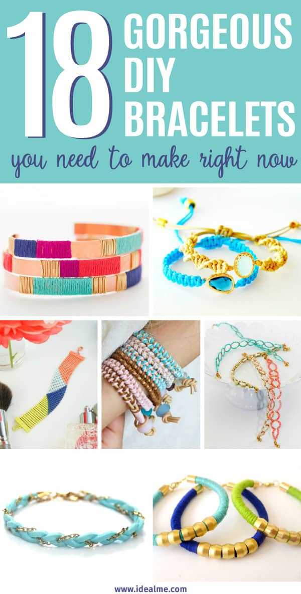 18 DIY Bracelets You Need to Make Right Now - Ideal Me