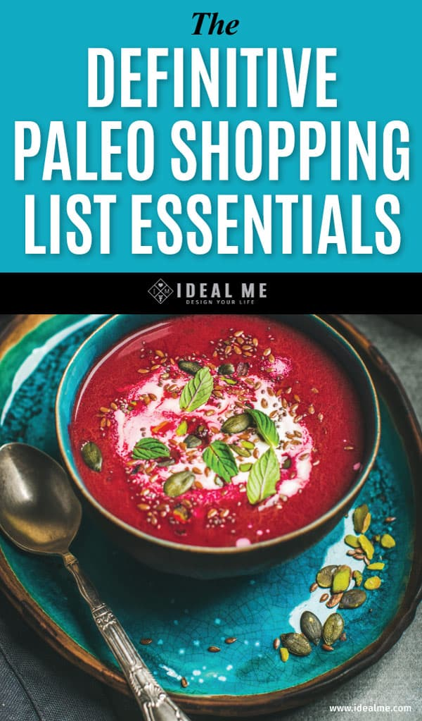 If you're jumping on the Paleo bandwagon, the diet criteria can be confusing. That's why we've put together the definitive starter paleo shopping list.