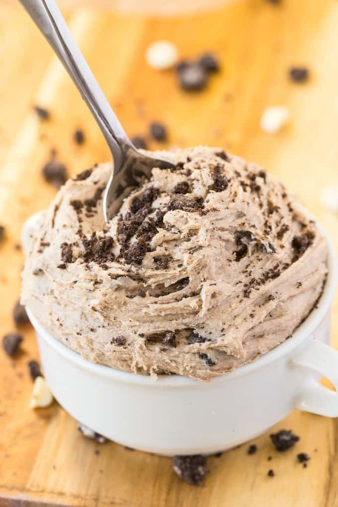 easy paleo cookies and cream dip