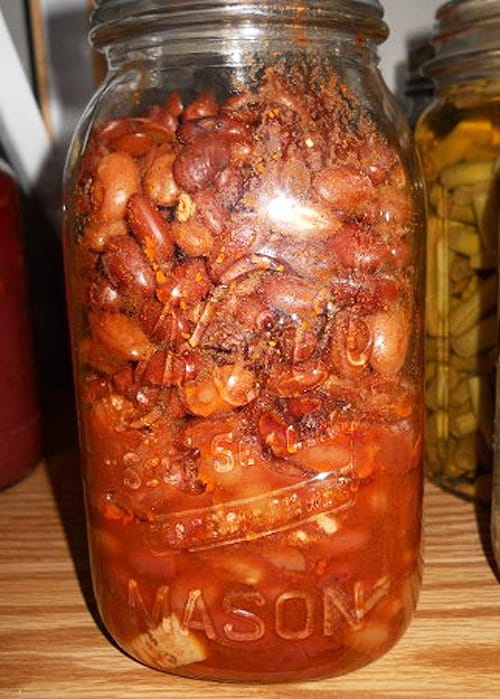 Canned Pork and Beans - recipes for canning beans