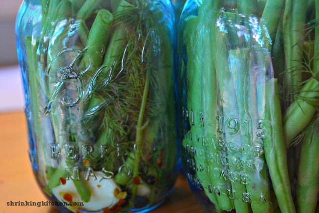 Farmstand Spicy Dilly Beans - recipes for canning beans