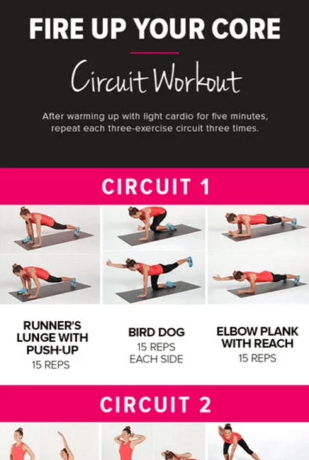Bodyweight Exercises Based on Your Go-To Workout recommend