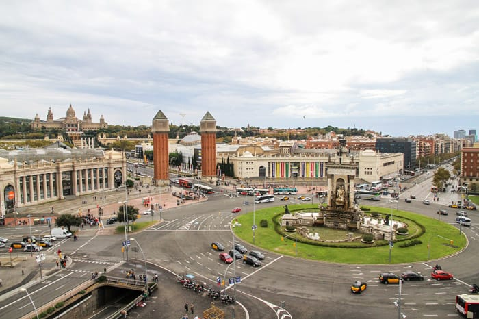 Barcelona, Spain - places to travel in Europe