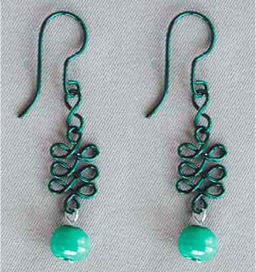 Celtic Knot Earrings - celtic knot
