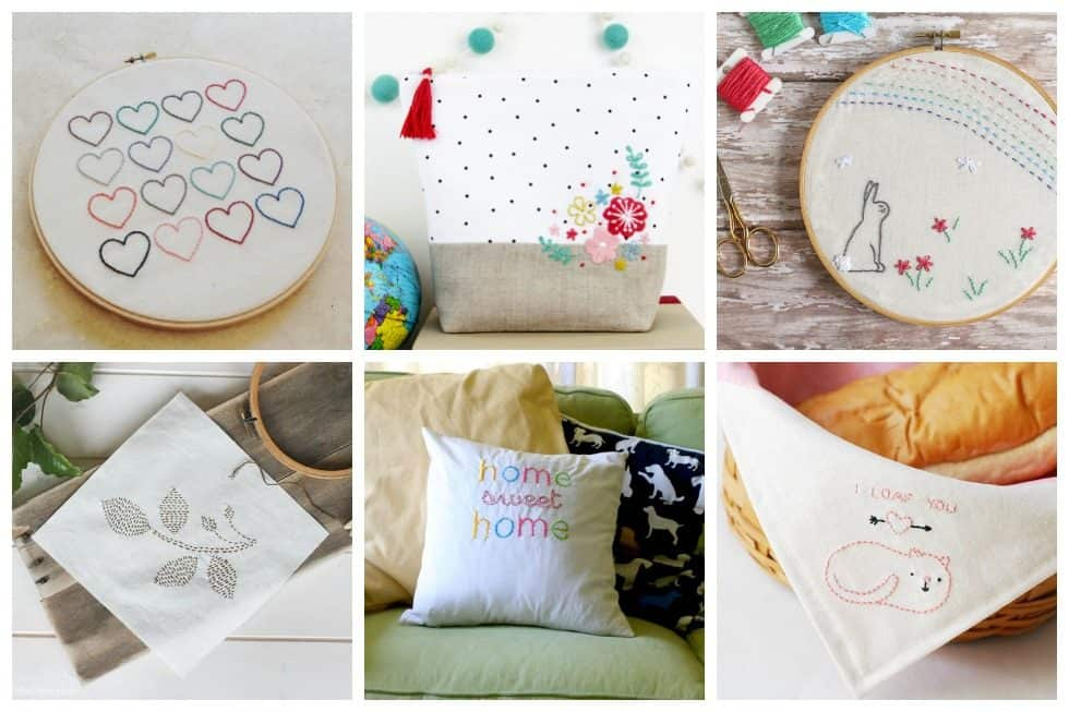 22 simple embroidery designs perfect for beginners ideal me wed like to get you started off in the wonderful world of embroidery with dt1010fo