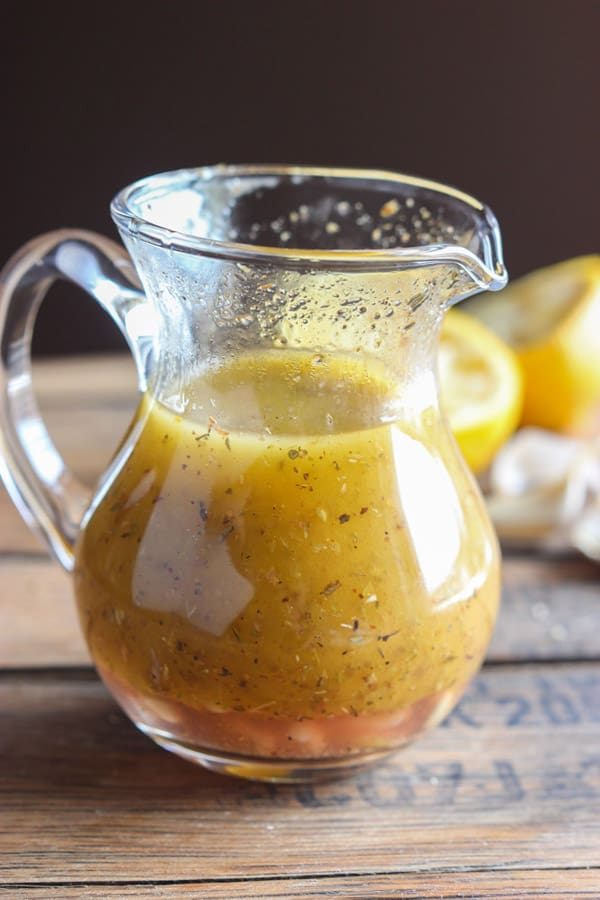 Greek Vinaigrette - paleo salad dressings