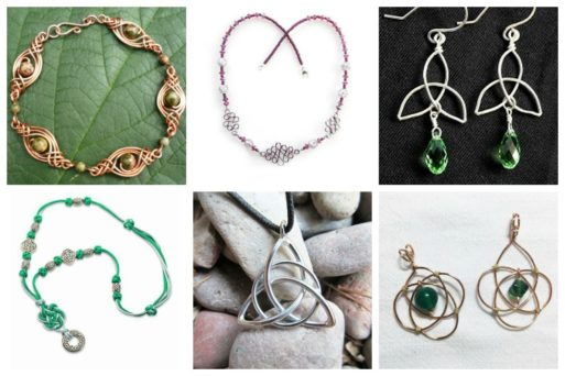 Although Celtic knots may appear complicated to look at, there is countless jewelry that adapts its beautiful designs.