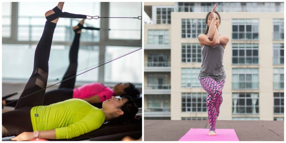Yoga and Pilates have many similarities, but they are two different practices. So what is the difference between pilates vs yoga? We break it down here.