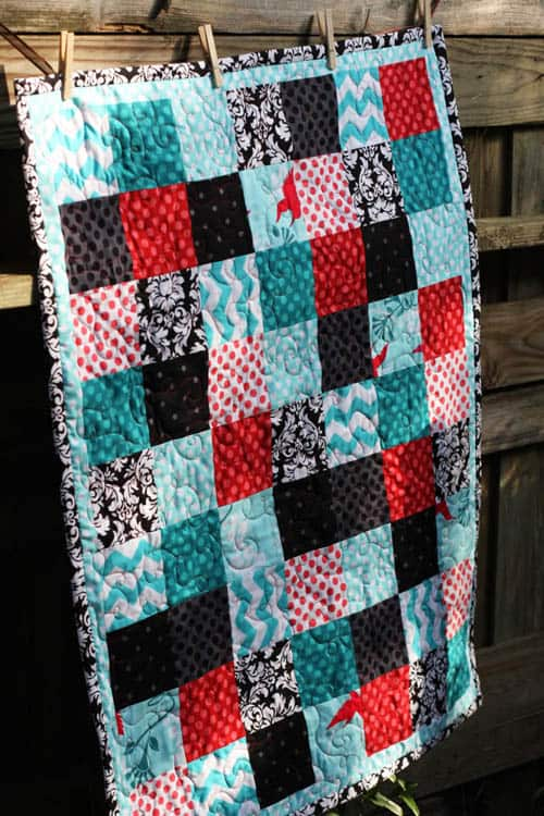 Basic Block Quilt - country quilts