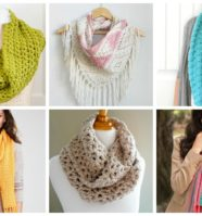 17 Cozy Scarf Crochet Patterns to Keep You Warm This Fall