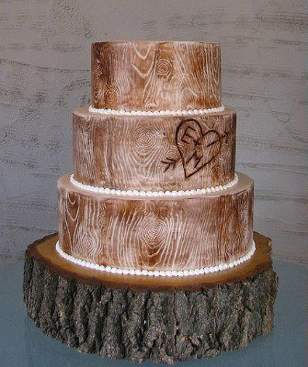 Cute Rustic Wedding Ideas: 17 Wedding Cake Decorating Ideas Perfect For Rustic