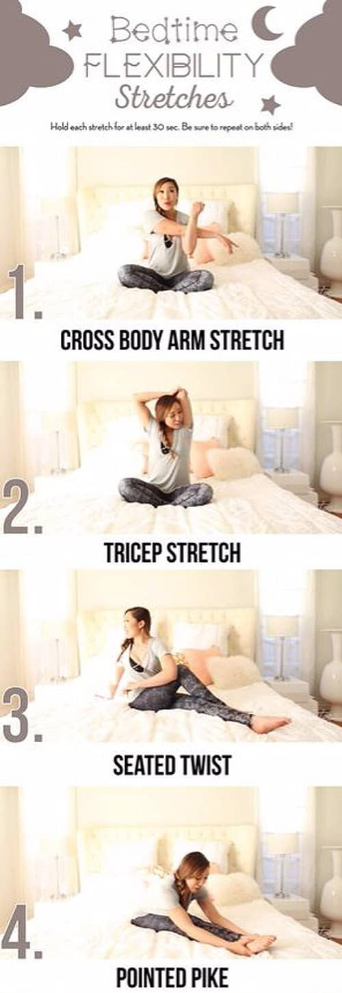 Bedtime Flexibility Stretches