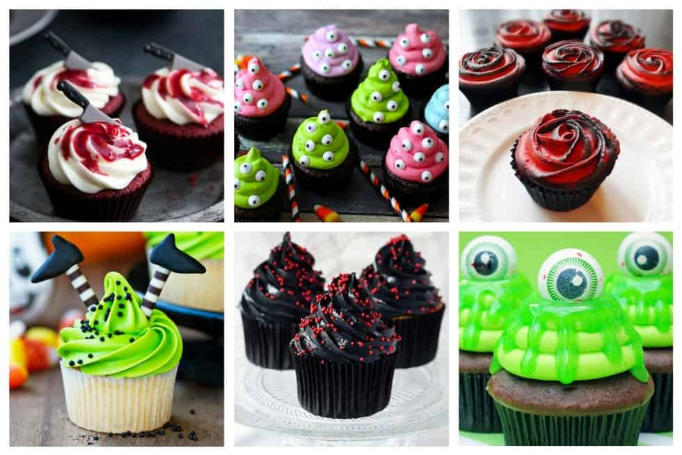 13 Halloween Cupcake Decorating Ideas that You