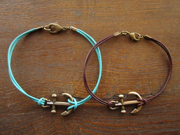 Anchor Bracelet - easy DIY bracelets