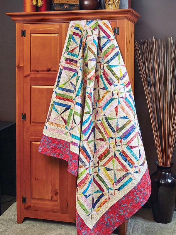 Willy Nilly Pinwheels Quilt - pinwheel quilt patterns