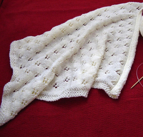 26 Free Baby Blanket Knitting Patterns - Ideal Me