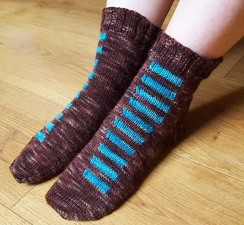 Alignment - sock knitting patterns