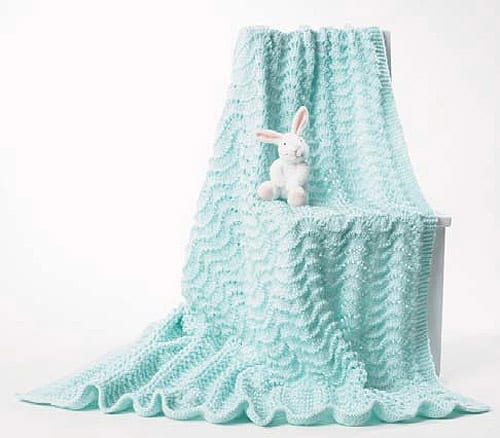 Bernat - free baby blanket knitting patterns