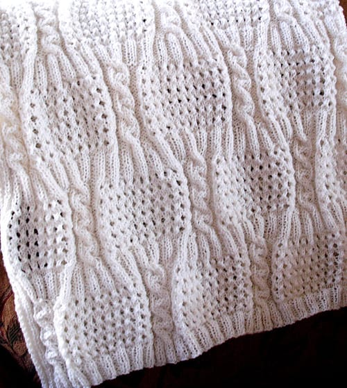 26 free baby blanket knitting patterns ideal me cabled eyelet free baby blanket knitting patterns dt1010fo