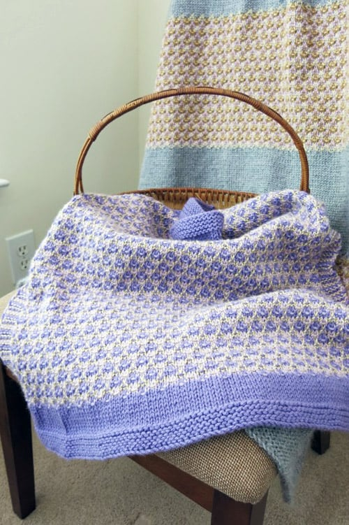 26 Free Baby Blanket Knitting Patterns Ideal Me