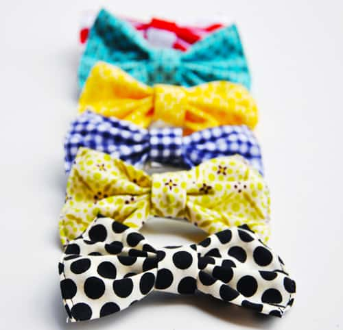 Splendid Hair Bow - simple sewing projects