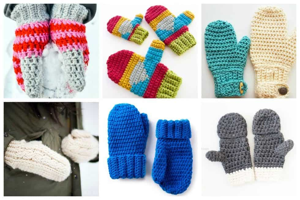Here, we've gathered our top 15 crochet mittens that you can make real quick!