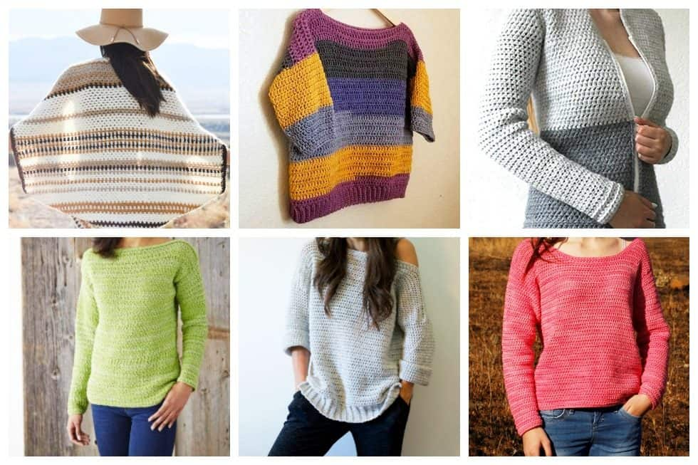 20 free crochet sweater patterns perfect for chilly days ideal me crochet sweater patterns dt1010fo