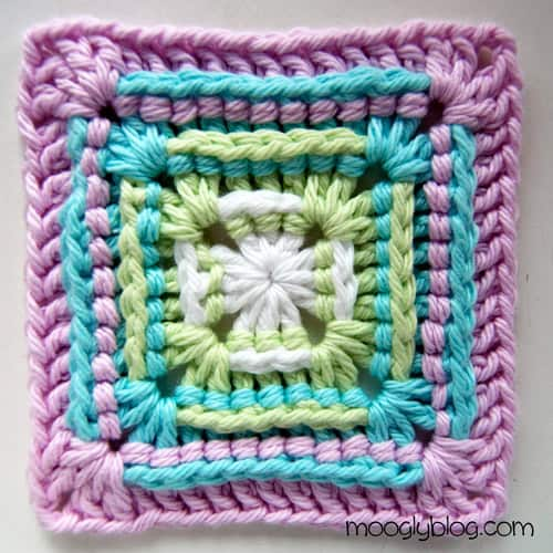 Sweetest Baby Granny Square - easy crochet squares