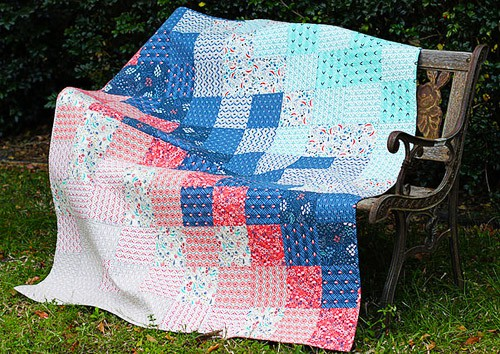 Wildwood - easy baby quilt patterns