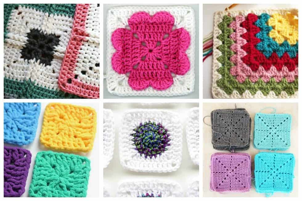 20 easy crochet squares you can use to make blankets ideal me easy crochet squares dt1010fo