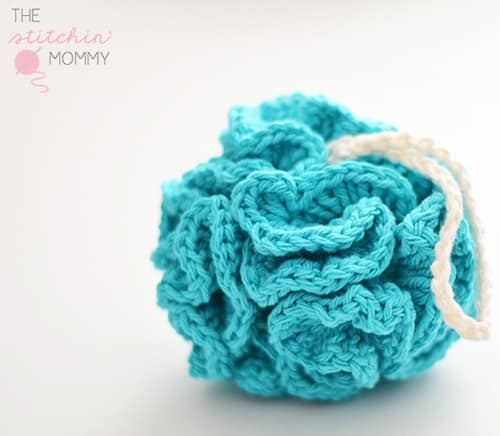 Puffy Bath Pouf - quick crochet projects