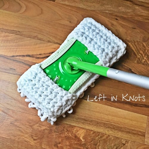 Quick and Thick Sweeper Cover - quick crochet projects