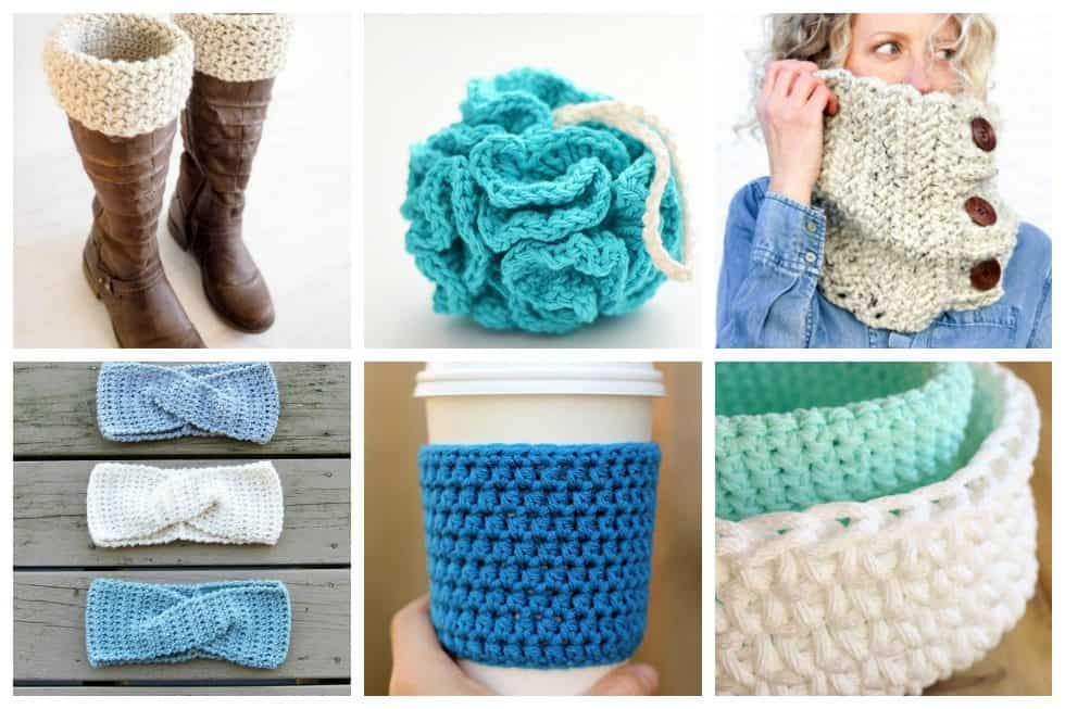 These easy and quick crochet projects are perfect for those who want to get reacquainted with crocheting but don't want to be burdened with a huge or difficult project.