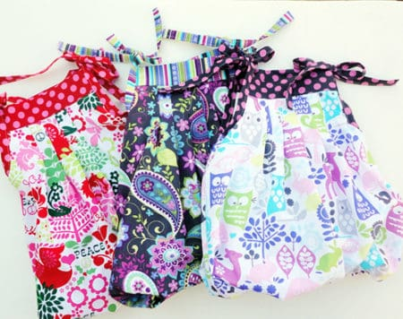 Grow-With-Me-Bubble Dress - things to sew