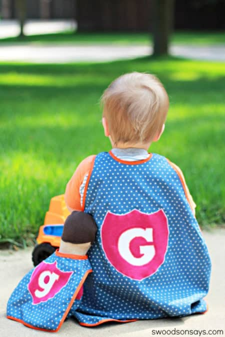 Superhero Toy Cape - things to sew