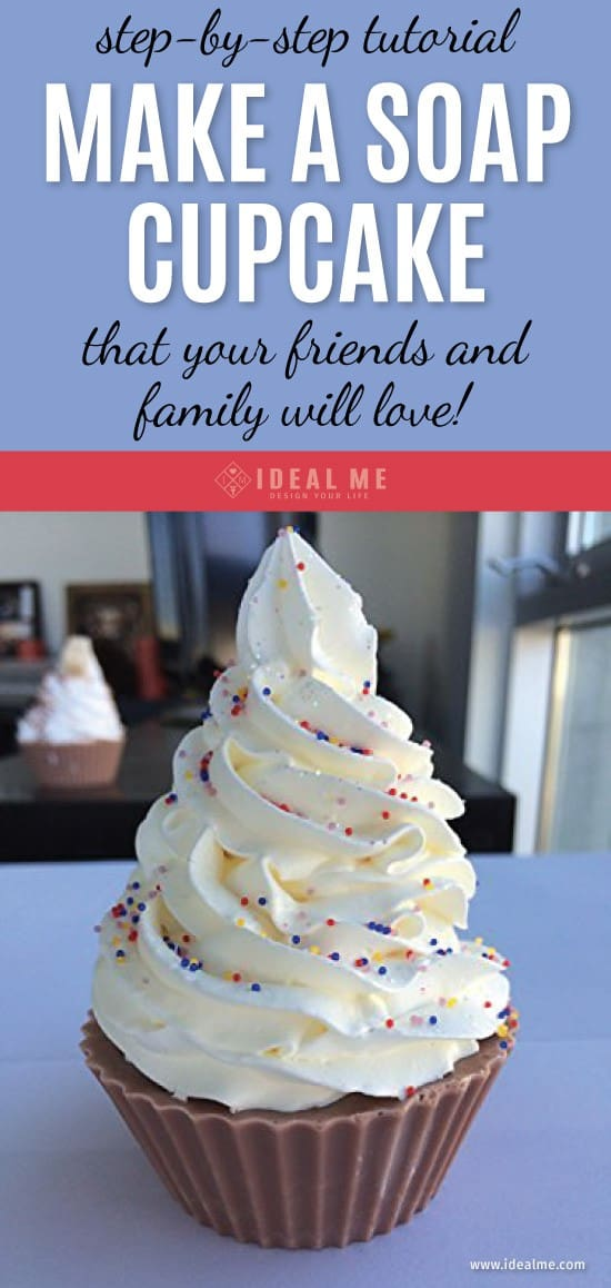 A Step By Step Tutorial For Making Soap Cupcakes That Your Friends & Family Will Love. Learn to make a soap cupcake that's so realistic that you're going to want to eat it! Click here to get the soap cupcake tutorial.