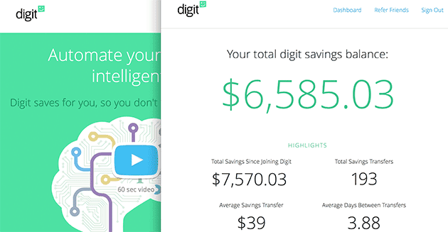 Build Your Wealth with Digit
