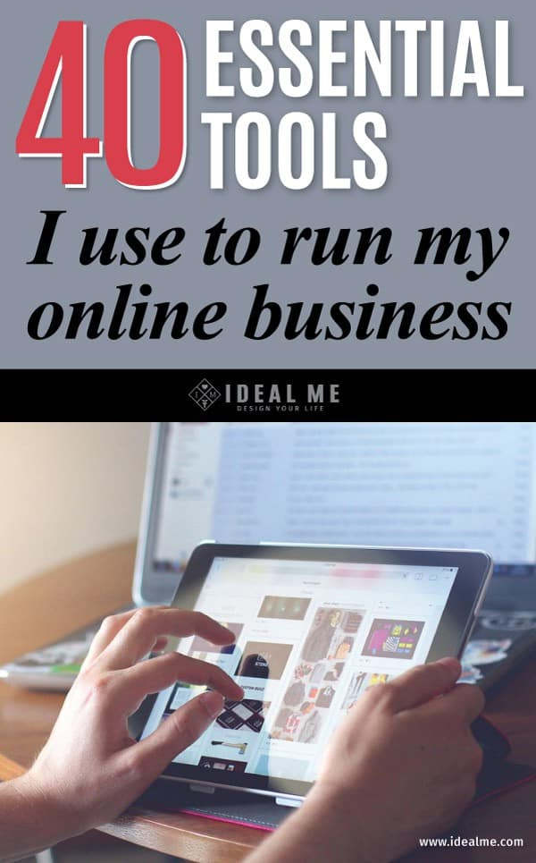 Getting started in the online business world can be tough. Check out these 40 Essential Tools that will help make your business run like clockwork.