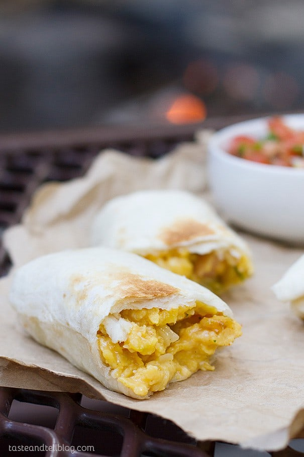Breakfast Burritos Campfire Style - 21 Expert Camping Food Hacks You Wish You'd Heard of Years Ago. Why not use some expert camping food hacks to help take the stress out of camping cooking. Check out these impressive camping food tips and tricks that will help you whip up tasty meals in a flash.