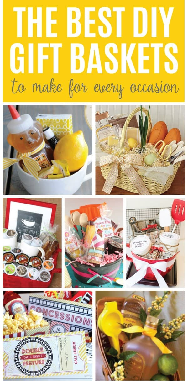 Here are the best DIY gift baskets ideas to help inspire you to make beautiful and thoughtful gifts that the recipients will remember for years to come.